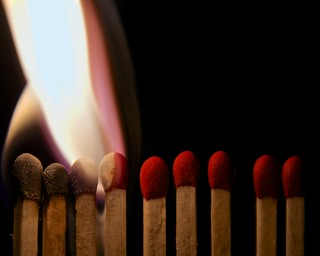 165/365 - Playing with Matches | by djwtwo