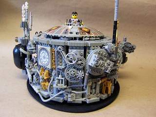 Lego Steampunk Hat | by monsterbrick