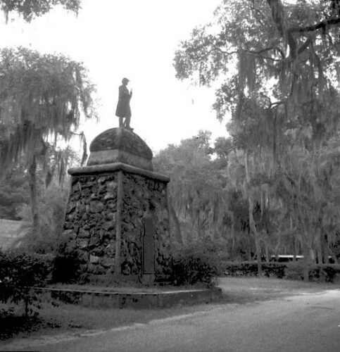 Monument at Dade Battlefield Historic State Park: Bushnell, Florida | by State Library and Archives of Florida
