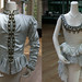Tunic won by Jonathan Cope and dress worn by Darcey Bussell in The Prince in The Prince of the Pagodas 1989 © ROH 1989