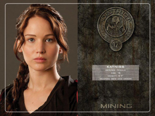 who are the tributes in the hunger games