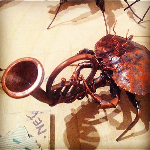 Those crabby horny French #artmurmur #latergram | by colinaut