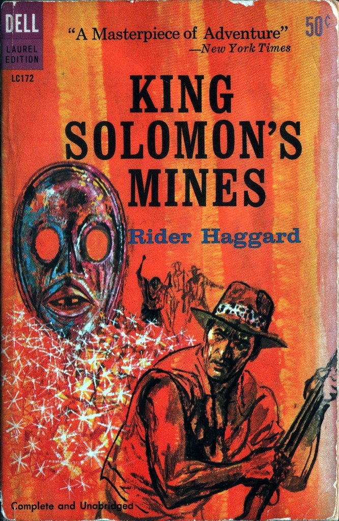 an analysis of the theme of hunting in king solomons mines a novel by sir h rider haggard Values dissonance/literature theme of the guard as a generally  h rider haggard's adventure novel king solomons mines,.