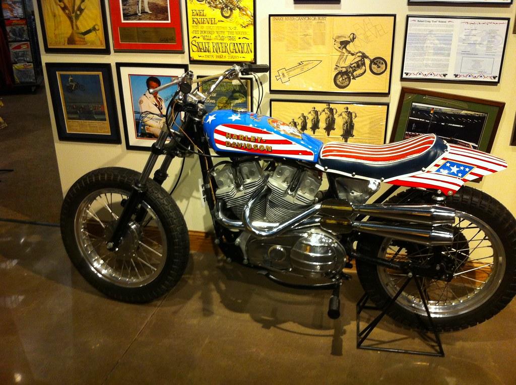 1972 Harley Davidson Xr750 Evel Knievel Stunt Bike: Evel Knievel's Harley-Davidson XR-750
