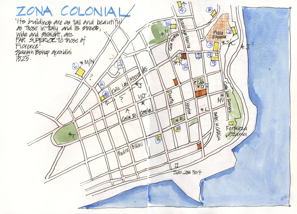 120627 Trip Prep SDQ Zona Colonial Map Ok Here is somet Flickr