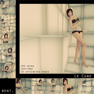 BENT. Le Cube  New Release | by Catherine Fairport