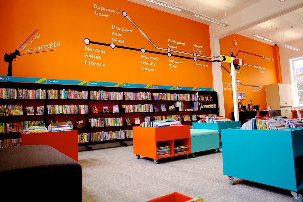 Passmore Edwards Centre Children 39 S Library The Stations Flickr