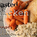 Roasted Chicken with Carrots & Cauliflower Mash {Paleo One Pot Meal}