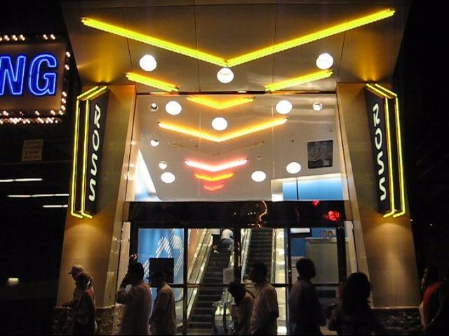 Ross Dress For Less South Las Vegas Strip Nv Neon Entry W