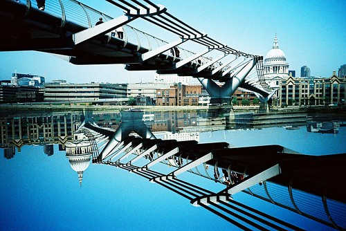 St Paul's and the bridge | by m+b