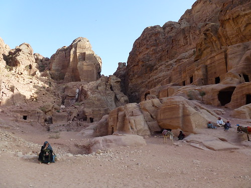 Local Bedouin people working in Petra | by marc's pics&photos