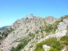 Montée au col de Morellu : Punta Furcuta