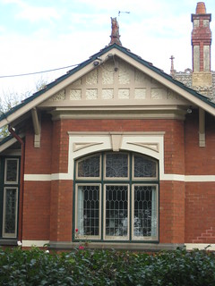 The Art Nouveau Stained Glass Windows of a Queen Anne Mansion - Ballarat