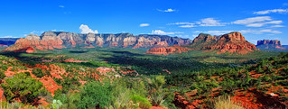 Artistic Sedona Panorama | by Dave Toussaint (www.photographersnature.com)