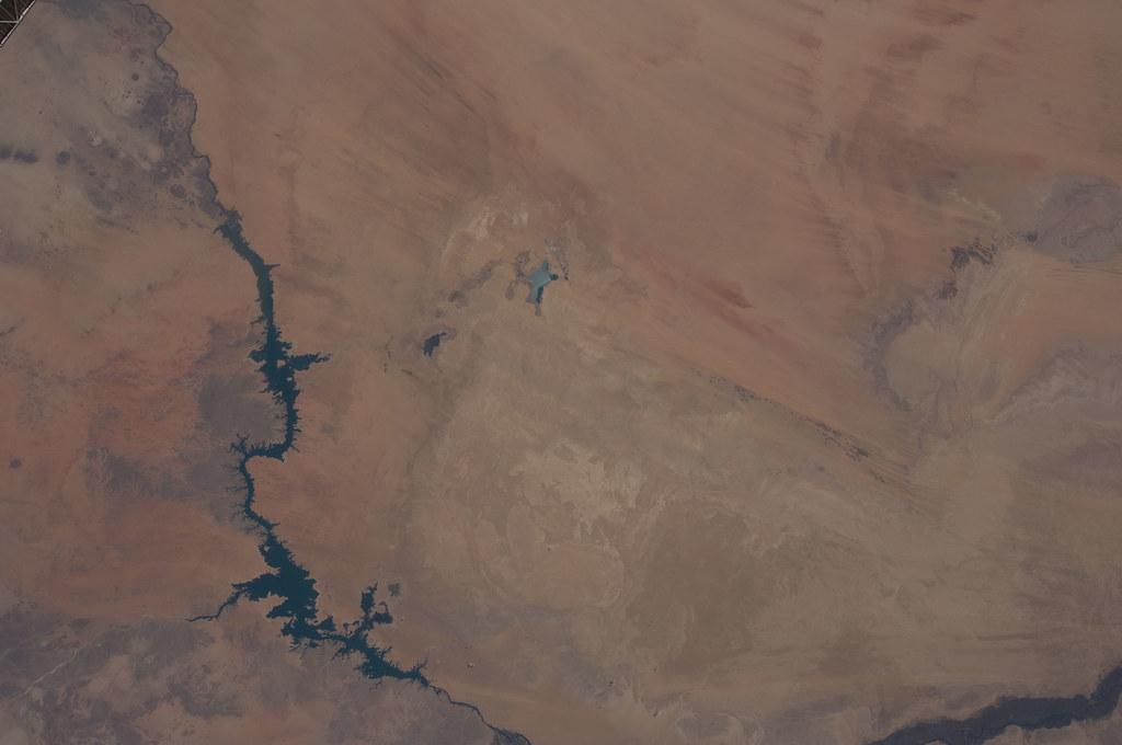 Toshka Lakes, Egypt (NASA, International Space Station, 06