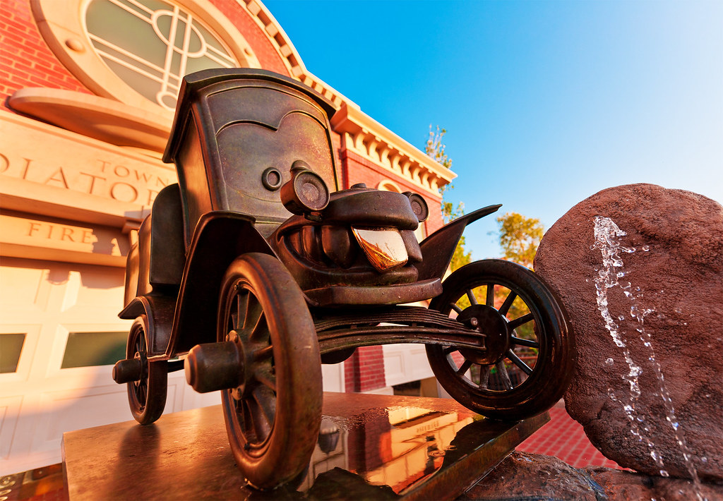 Pro Street Cars >> Cars Land - Stanley | The founder of Radiator Springs ...