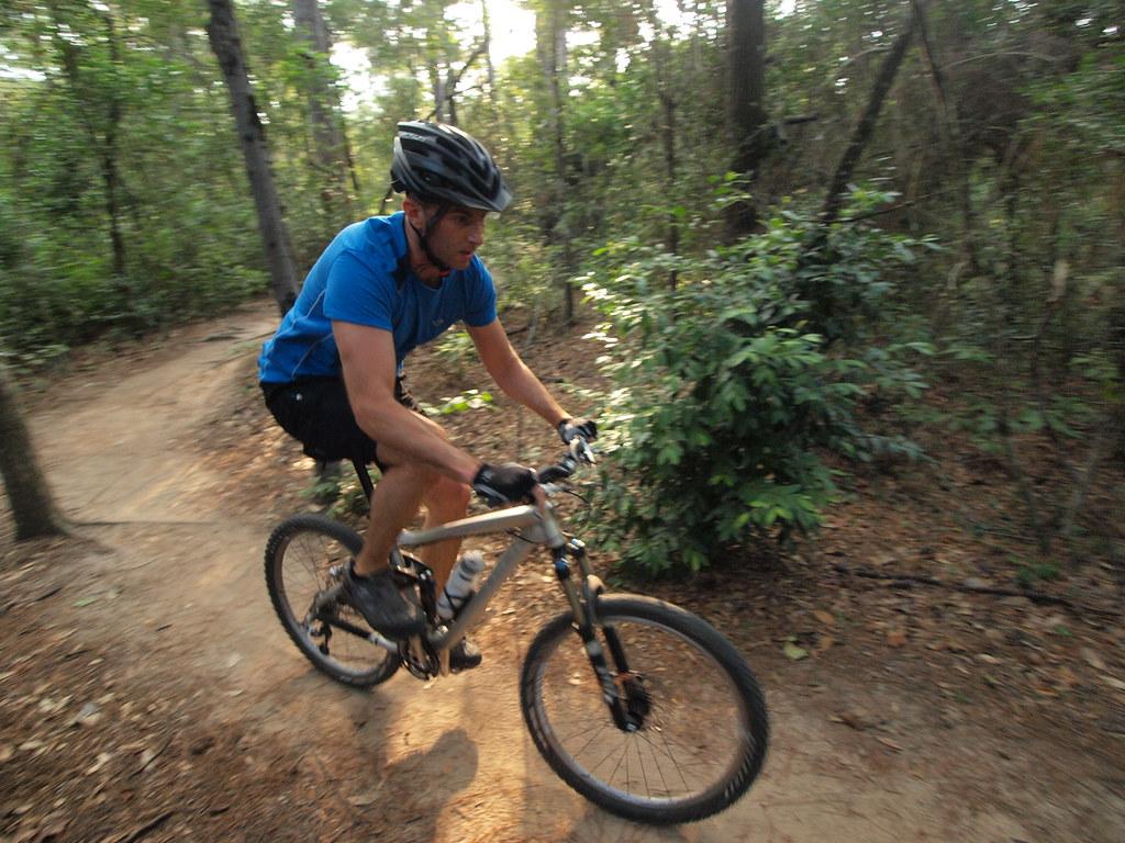 Houston Texas Memorial Park Mountain Bike Trails Me checki ...