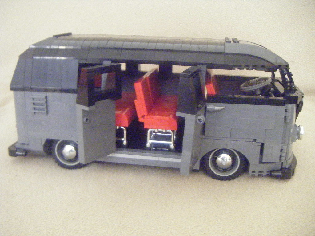 Moc Lego Vw Split Screen Barn Door Kombi Micro Bus Flickr