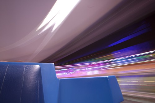 Sit still, we gotta go (TTA PeopleMover) | by ohhector
