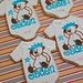 Custom cookies for baby Jaden's christening