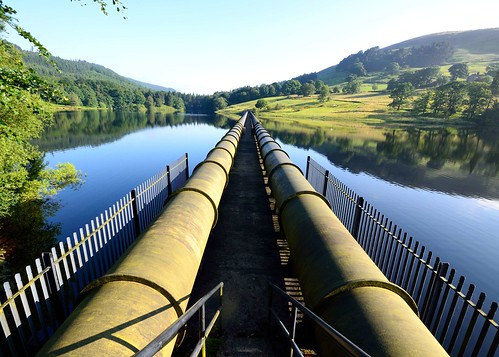 Ladybower Reservoir - Water Pipes | by ricklus