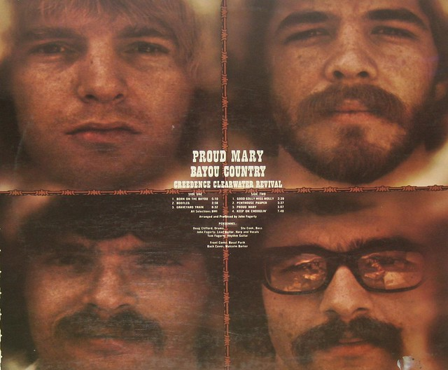 Creedence Clearwater Revival Proud Mary Bayou Country France