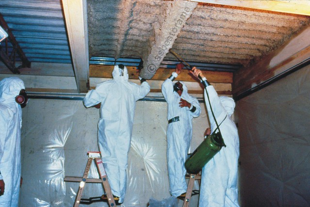 Spray Applied Fireproofing Asbestos Abatement