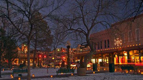 christmas lights by los alamos national laboratory - Christmas In Santa Fe
