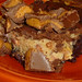 Reese's Pieces Peanut Butter Cup  cheesecake brownies!
