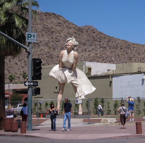 Marilyn Monroe Statue, Palm Springs (2527) | by DB's travels