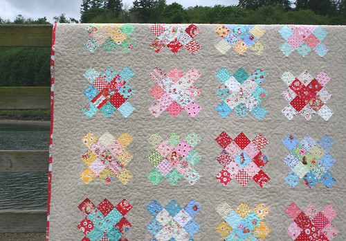 vintage granny square quilt! | by sewdeerlyloved