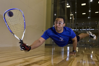 Racquet man | by Official U.S. Air Force