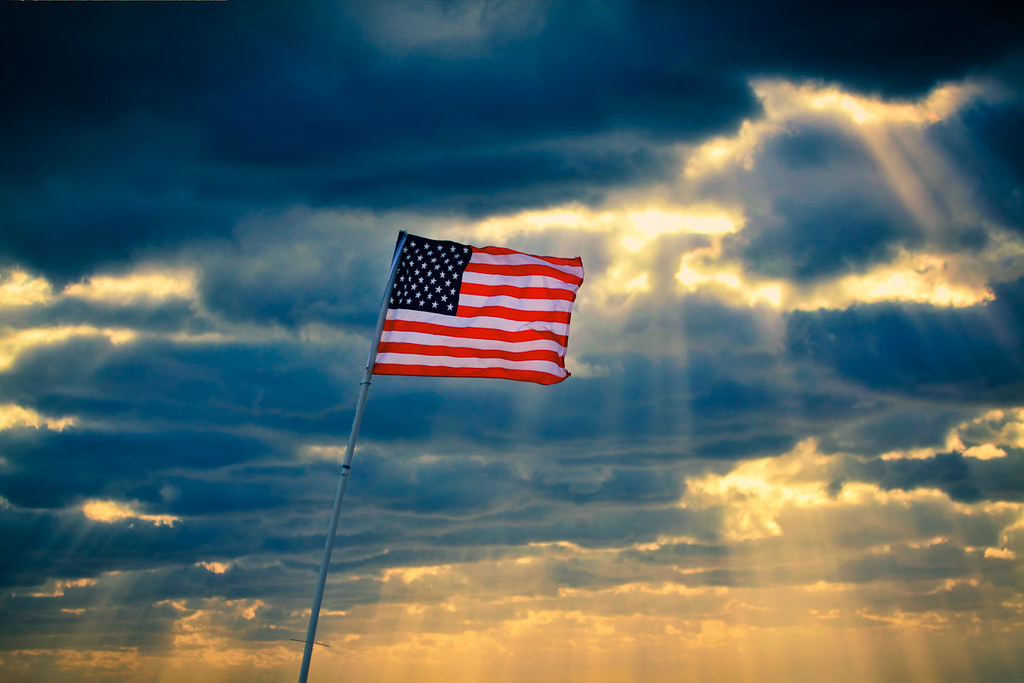 Memorial Day Flag Craft