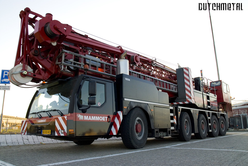 Mobile Crane Kje : Liebherr mk mobile tower crane the is