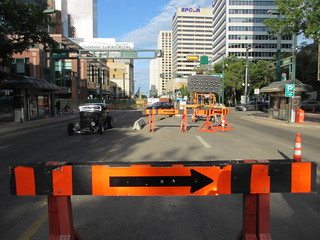 Jasper Avenue Construction | by mastermaq
