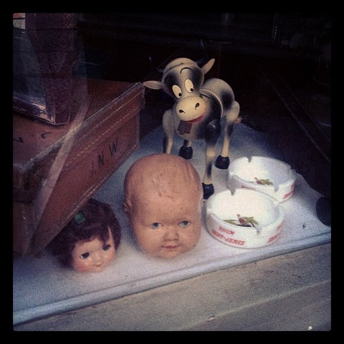 Dolls heads, ashtrays and a cow | by *Tom*