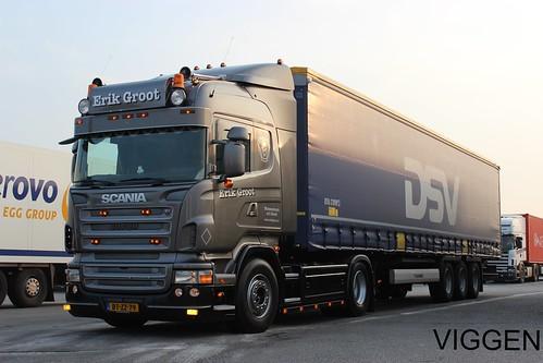 Erik Groot Transport Holland Scania R Viggen R500 Flickr
