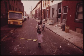 Black Neighborhood In North Philadelphia, August 1973 | by The U.S. National Archives