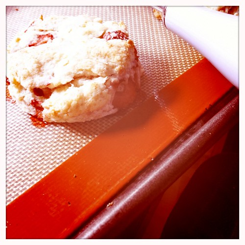 Strawberry and cream biscuits | by Dacia Ray