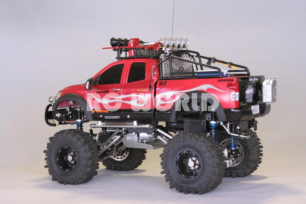 Tamiya 1 10 Toyota Tundra Highlift Truck Junfac Rock Crawl