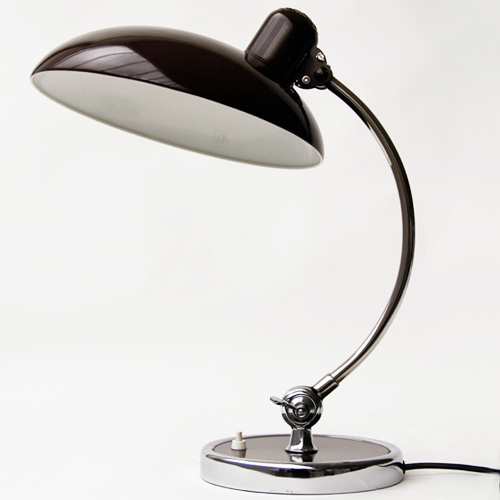 kaiser idell luxus 6631 brown bauhaus desk lamp kaiser i flickr. Black Bedroom Furniture Sets. Home Design Ideas