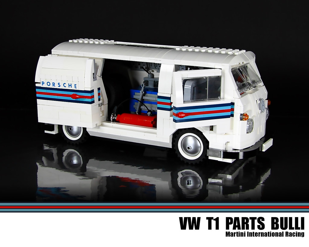 lego vw t1 parts bulli martini international racing flickr. Black Bedroom Furniture Sets. Home Design Ideas