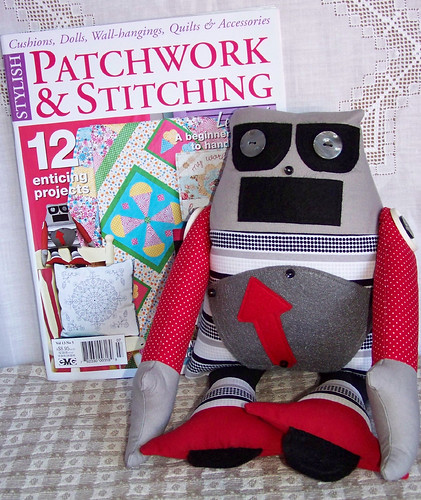 Patchwork and Stitching Vol 13 No 5 plus handibot | by sharlenejm
