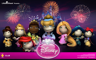 Disney Priincesses Wallpaper - LittleBigPlanet | by PlayStation Europe