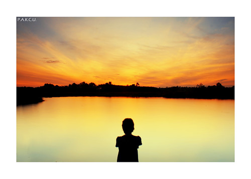 """Watching the sunrise..."" 