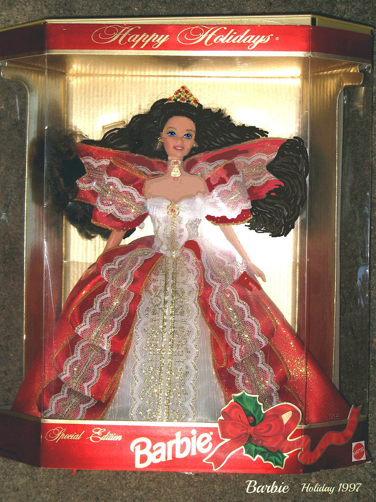 Image result for holiday barbie