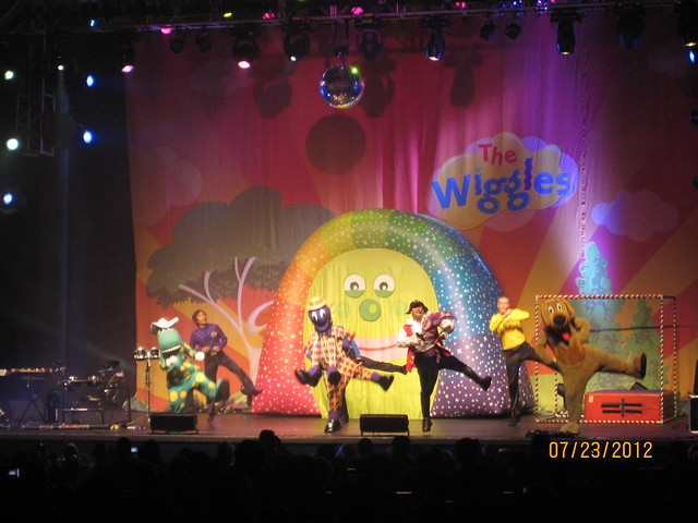The wiggles live in concert : Late night restaurants richmond va