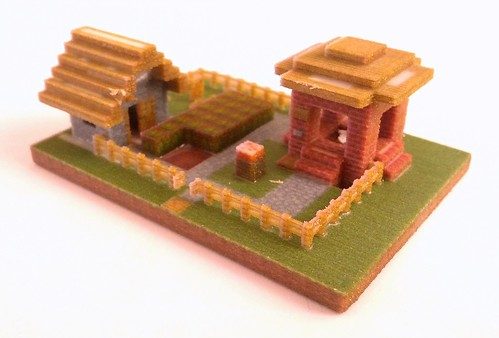 3mm model | by post-apocalyptic research institute