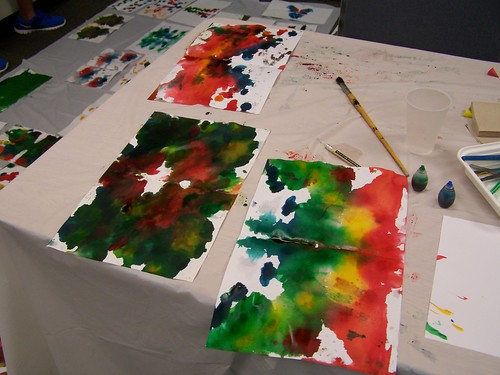 Inkblot Art Tween Workshop | by bernardstownshiplibrary