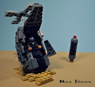 Halo ODST Drop Pod | by Nick Brick